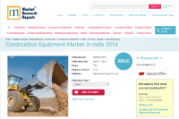 Construction Equipment Market in India 2014