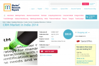 CRM Market in India 2014