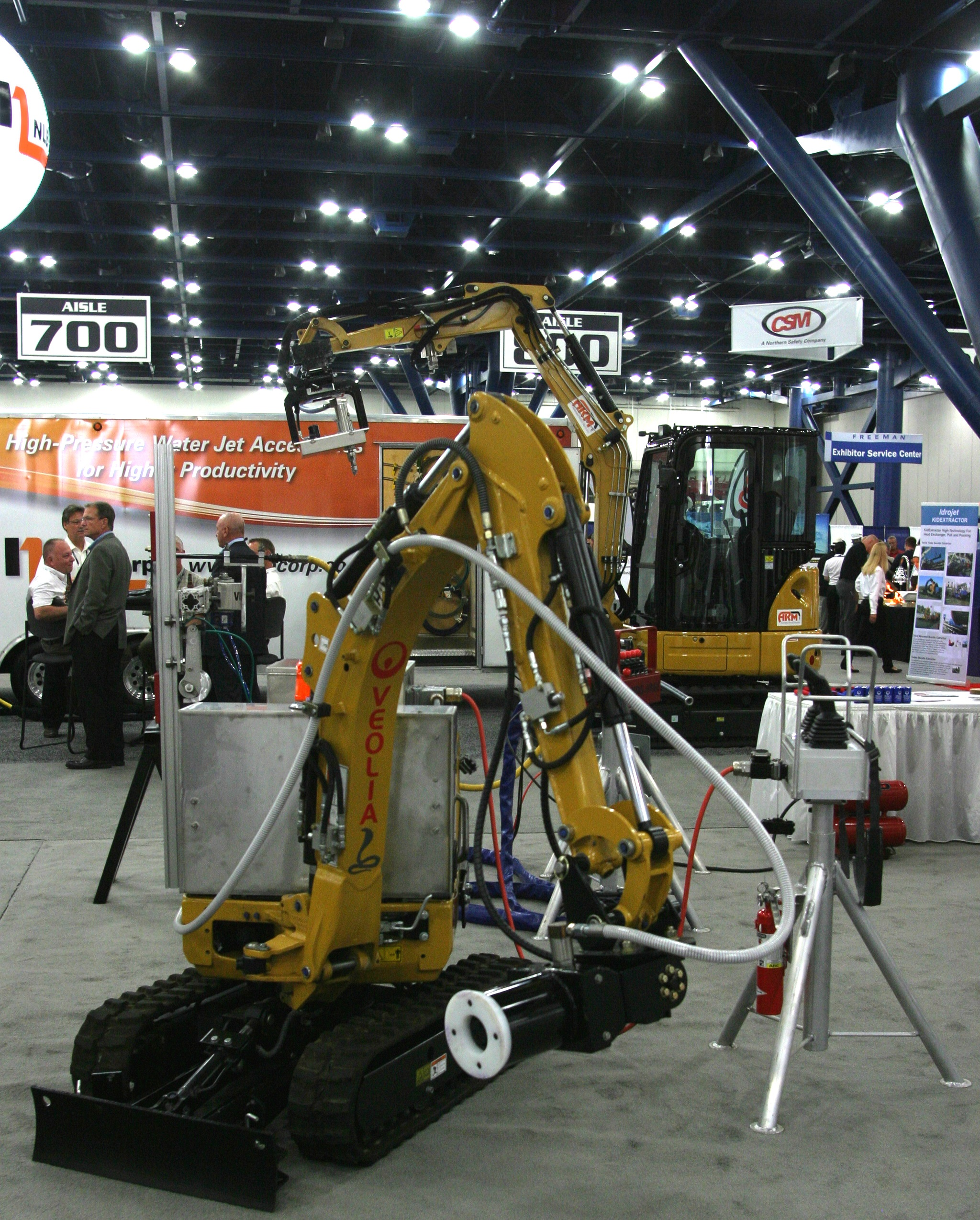 WJTA-IMCA Expo Exhibit Hall