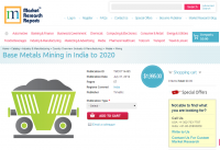 Base Metals Mining in India to 2020