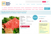 Assessment of China Beef Market