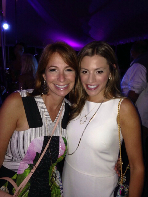 Christine Silverstein with Jill Zarin
