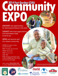 You're Invited to the 2014 Fort Gordon-CSRA Commun