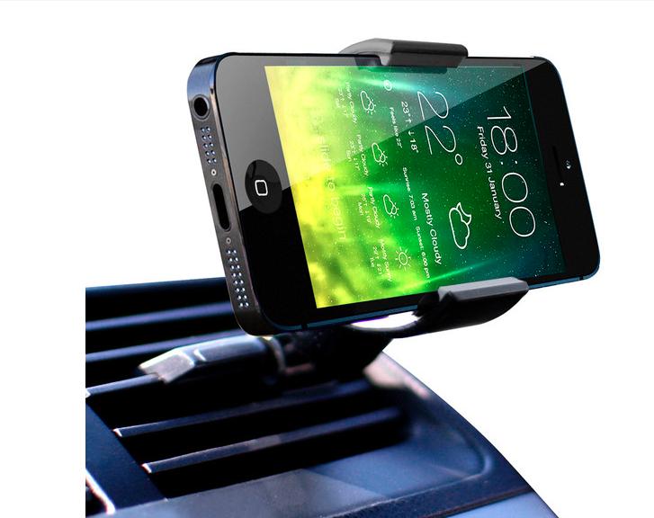air vent car mount for smartphones designed by koomus. Black Bedroom Furniture Sets. Home Design Ideas