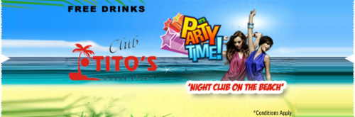 KyaZoonga.com: Buy tickets for Club Tito's (Discotheque'