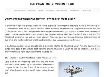 dji phantom 2 vision plus'