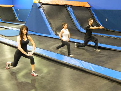Cosmic Jump Trampoline Entertainment Center'