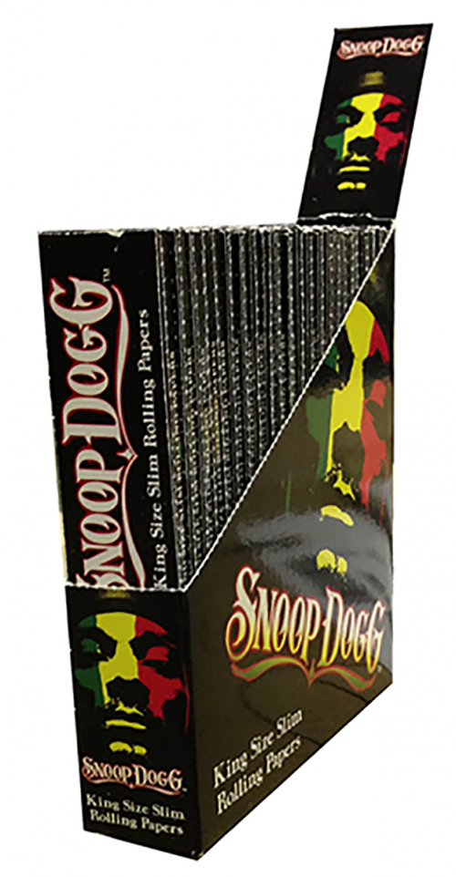 Snoop Dogg King Size Slim Rolling Papers'