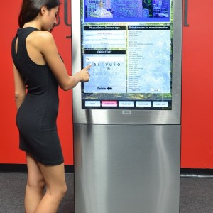 CyberTouch Introduces Link Indoor Touch Kiosks'