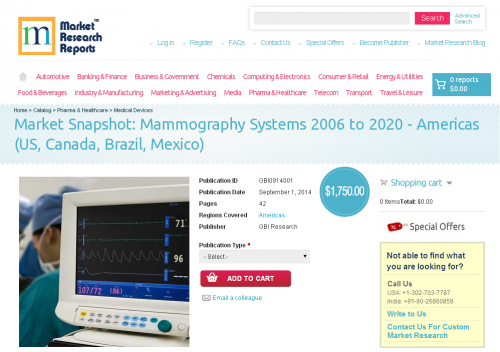 Mammography Systems 2006 to 2020 - Americas'