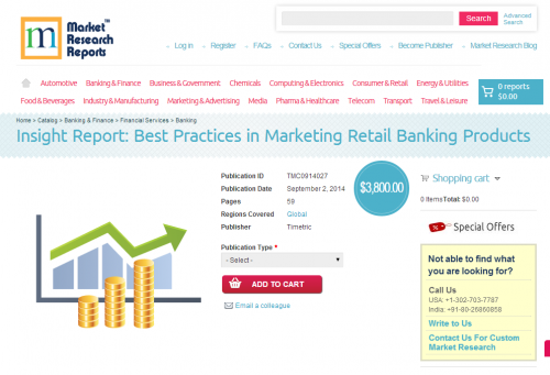 Best Practices in Marketing Retail Banking Products'