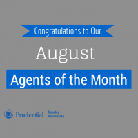 Our August Real Estate Agents of the Month