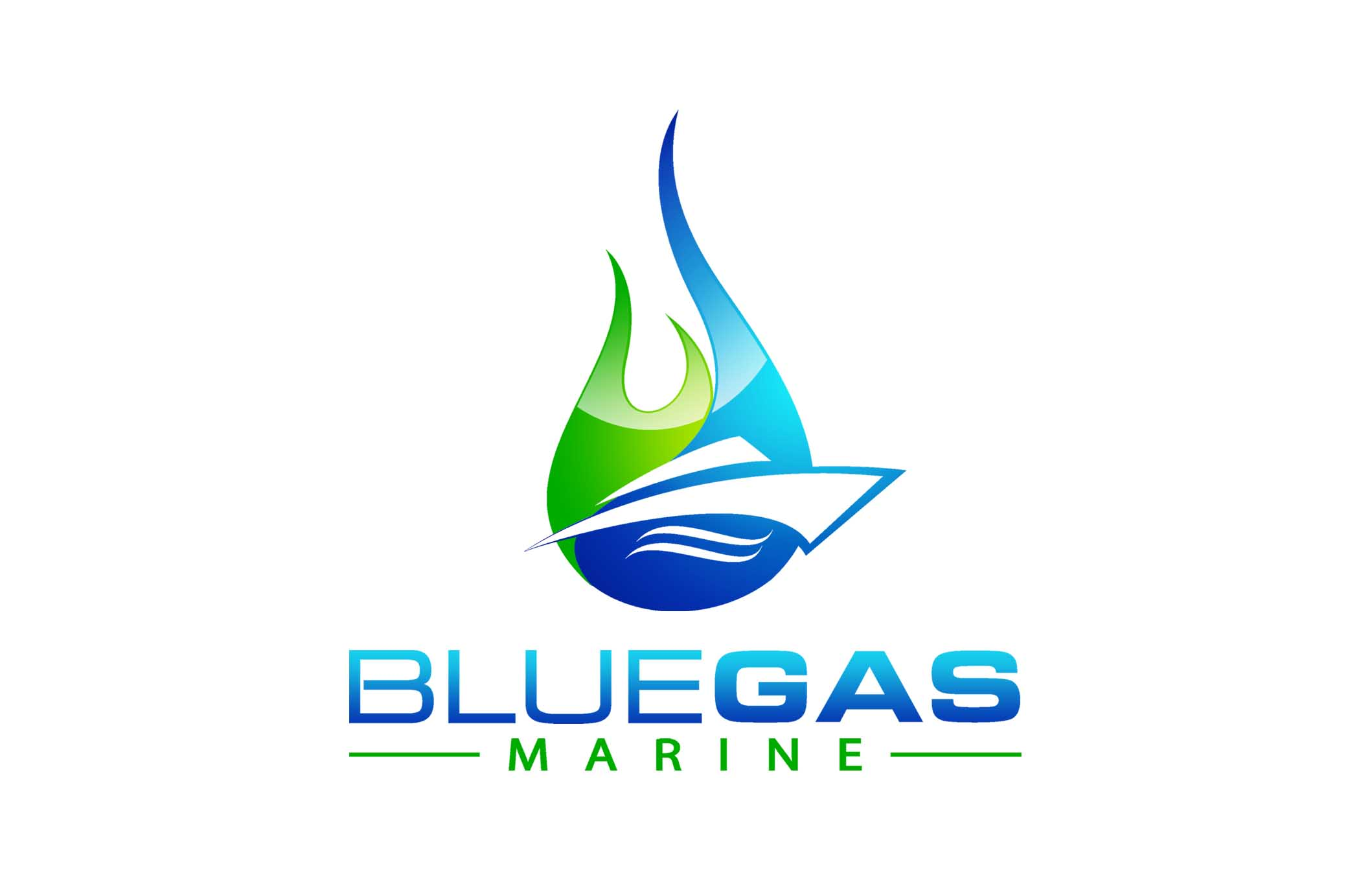 Blue Gas Marine, Inc. Logo