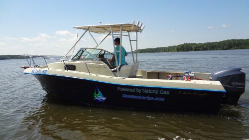 Blue Gas Marine Natural Gas Boat BlueGas1'