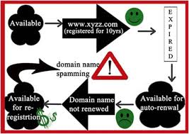 lifecycle of a domain'