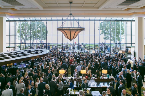 Over 850 attendees overwhelmed the Marriott in Burlingame'