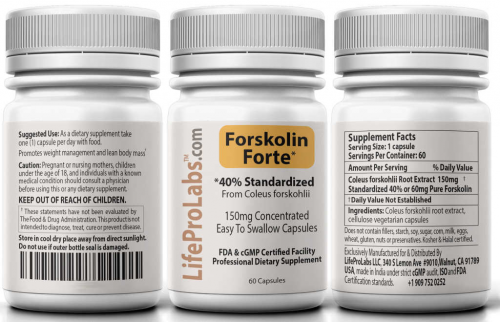 Forskolin Forte'