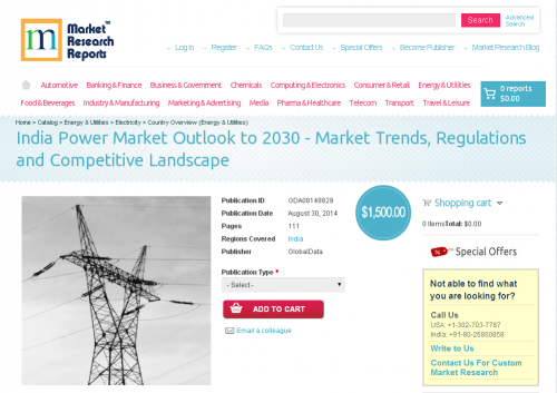 India Power Market Outlook to 2030'