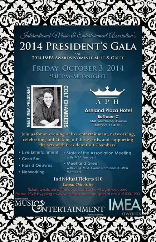 IMEA President's Gala'