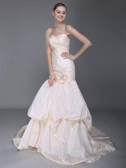 mermaid wedding dress'