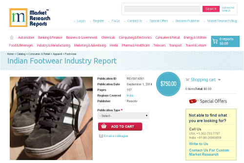 Indian Footwear Industry Report'