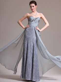 elegant evening dress'