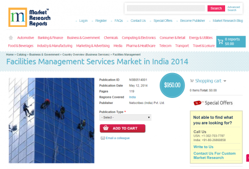 Facilities Management Services Market in India 2014'