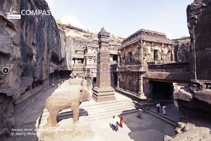 Ancient Temple - Ellora Caves
