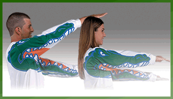 University Of Florida Team Motion Sports long sleeve T-shirt'