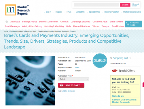 Israel Cards and Payments Industry'