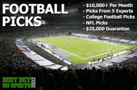 Guaranteed NFL and College Football Picks