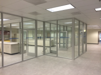 glass cubicles and partitions