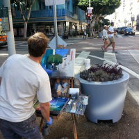 Alex Schaefer Plein Air Painting