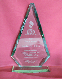 Better Business Bureau's Torch Award