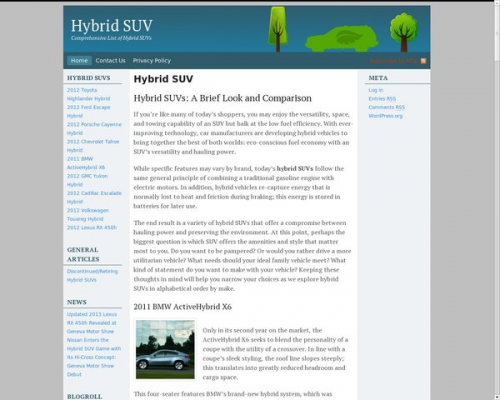 Hybrid-SUV.net'