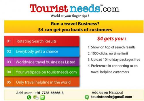 Touristneeds.com'
