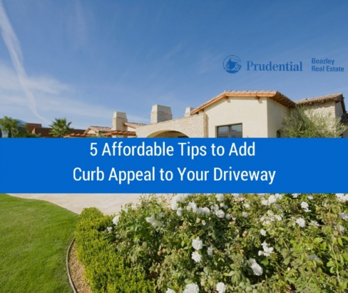 5 Affordable Tips to Add Curb Appeal to Your Driveway'