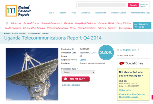 Uganda Telecommunications Report Q4 2014'