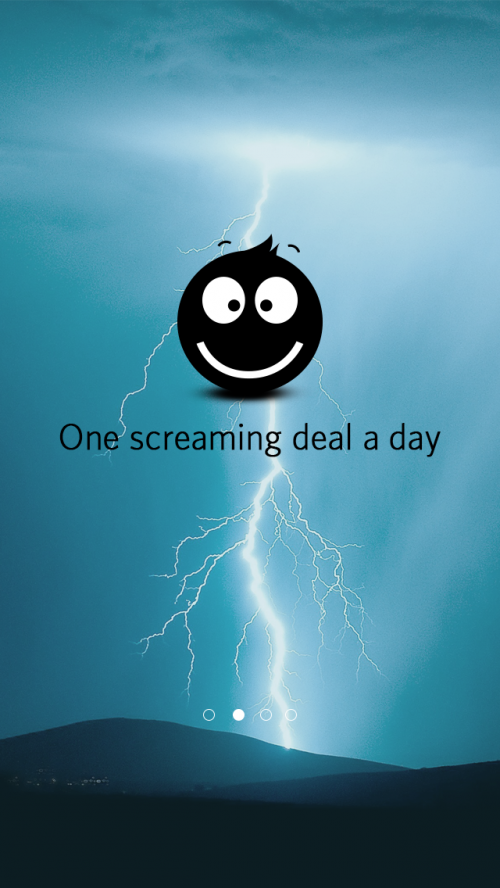 thundR- A personalized one screaming deal a day app'
