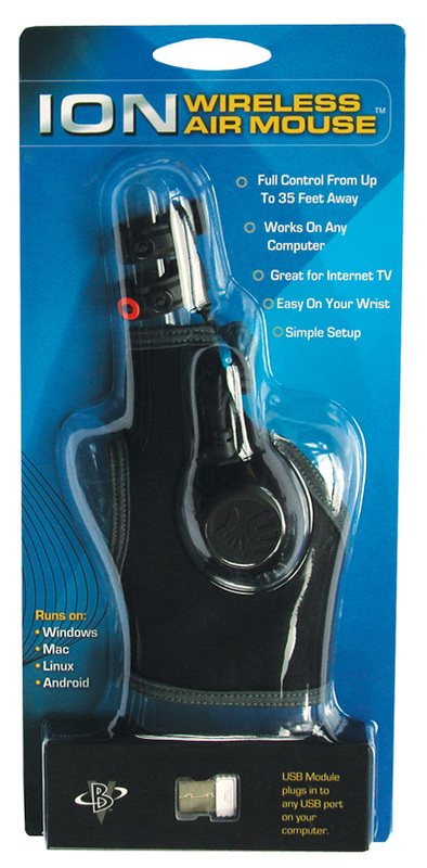 Ion Air Mouse Computer Glove'