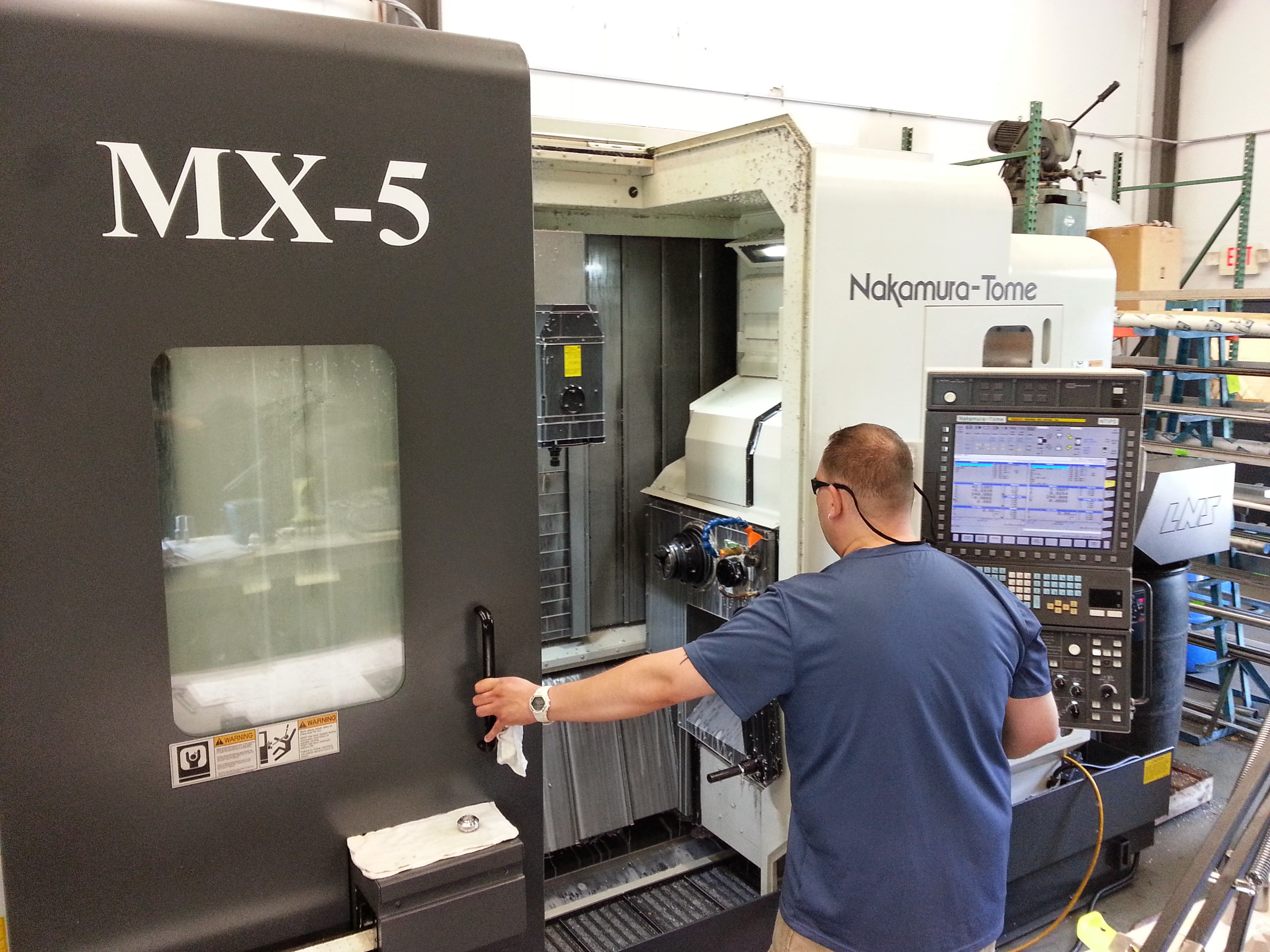 Machine Inc adds NT MX 5-Axis Turn Mill Machining Center