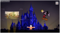 Drones to entertain at Disneyland