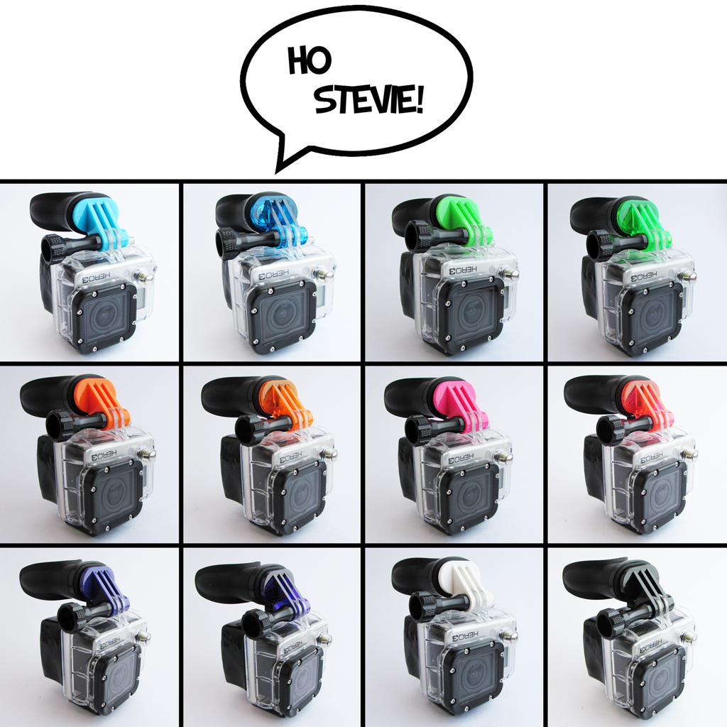 GoPro Mount Mount - 12 Colors