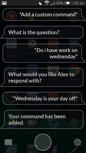 Alex Custom Command'