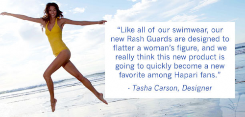 HAPARI Swimwear's Sun-Protective Rash Guard Project'