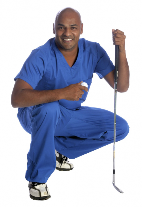 Dr. Raj Jackson, PGA, DC, USGTF, TPI'