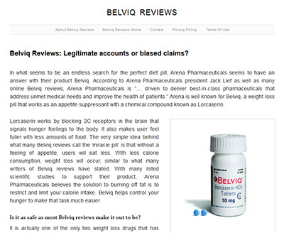 belviq reviews'