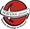 Logo for MAVENS planet'