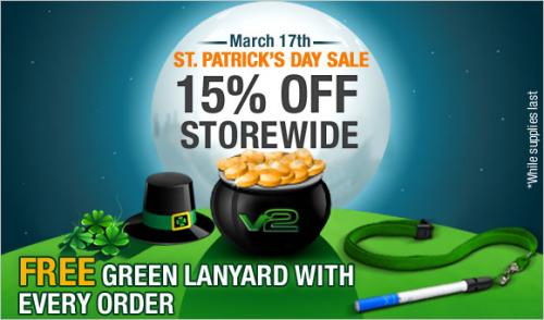 St. Patrick's Day Sale'