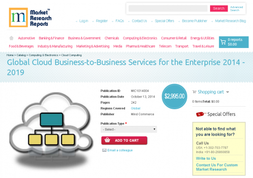 Global Cloud Business-to-Business Services'